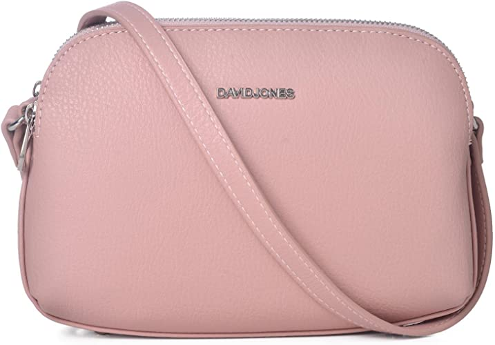 3 Fach Schultertasche Handtasche Damen Tasche rosa
