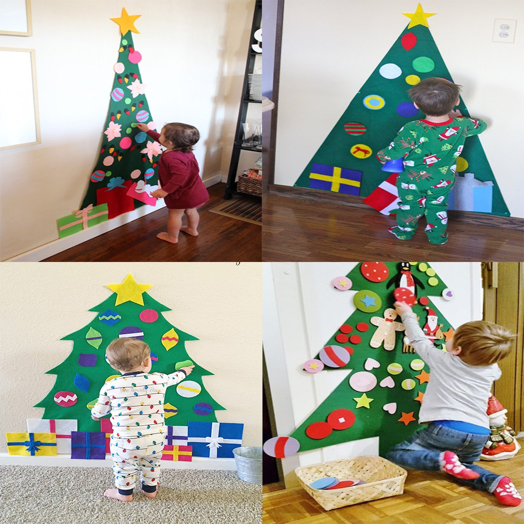 Childrens Felt Christmas Tree – blacktopdeals