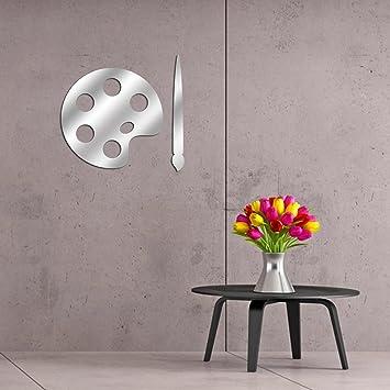 Sticker Mural Autocollant Amovible Miroir Plexiglas Acrylique 351