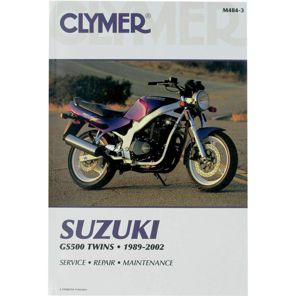 Amazon.com: Clymer 89-02 Suzuki GS500E Service Manual: by ... on