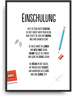 Einschulung Urkunde Personalisiert Geschenk Karte Zum