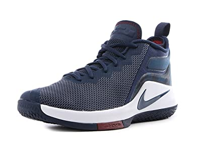 Nike Lebron Witness II Basketball Shoes Lebron James College Navy/White New  942518-406