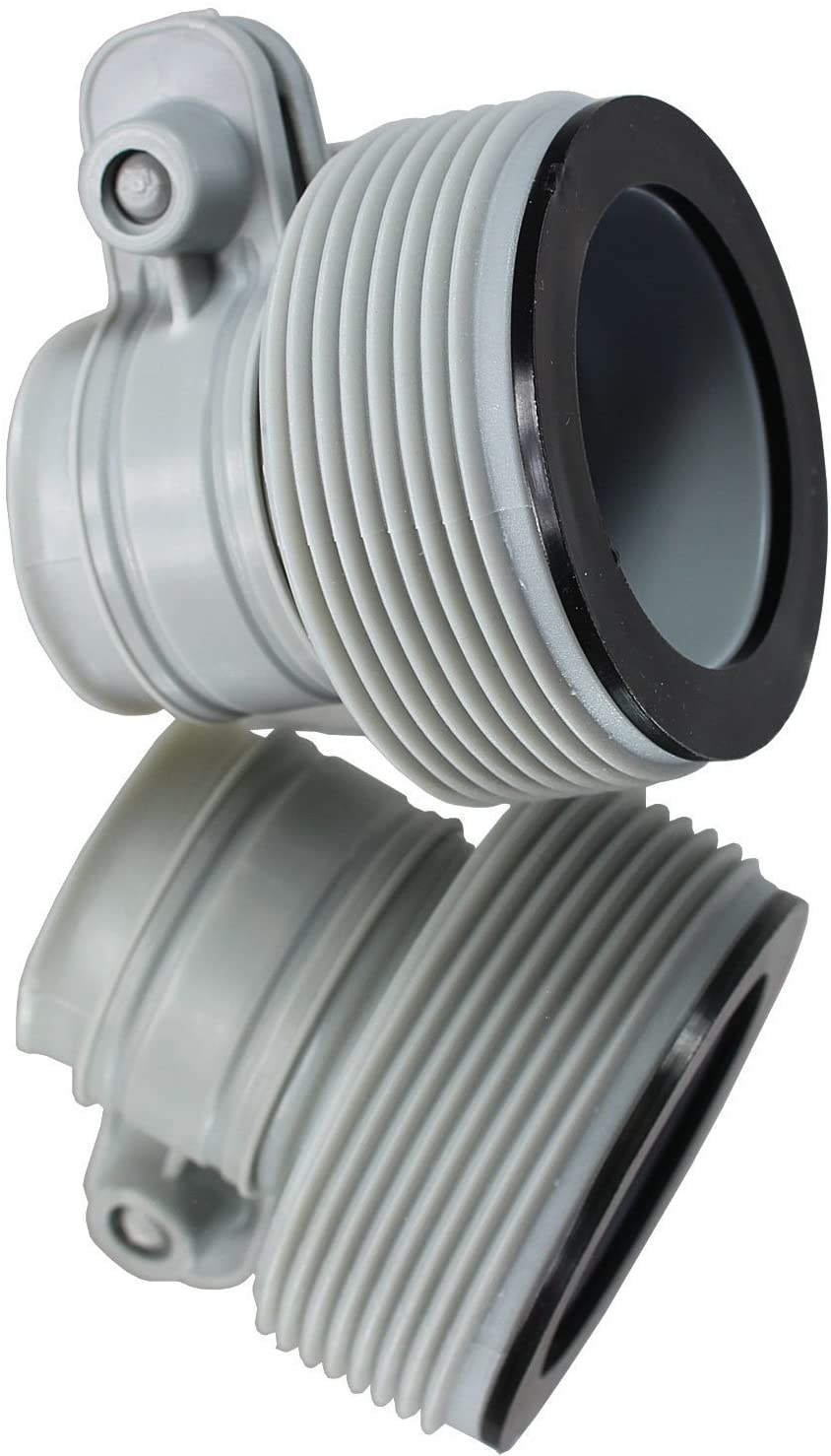 """INTEX 1.25"""" to 1.5"""" Type B Hose Adapters for Pumps & Saltwater System 
