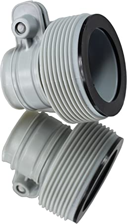 """2 Pack Hose Adapter Swimming Pool 1.25/"""" Fittings to 1.5/"""" Fittings Filter Pump"""