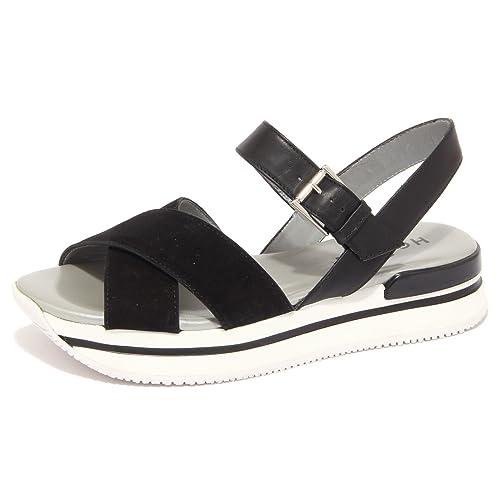 1429Q sandalo HOGAN nero scarpa donna sandal woman