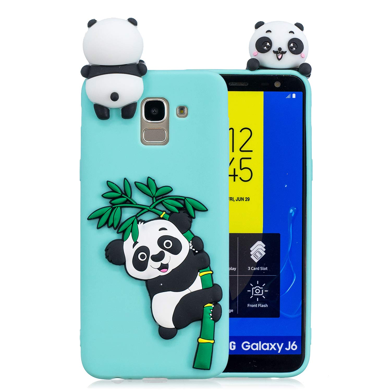 Amazon.com: Samsung J6 Case,DAMONDY 3D Panda Cute Pattern ...