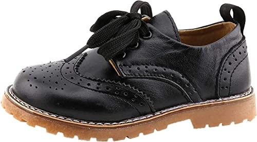 Velcro Brown Formal Dress Shoes