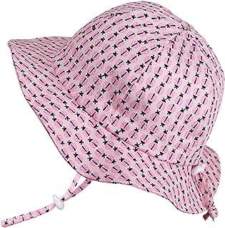 Twinklebelle Cappello di Protezione Solare Bambino 50+, Misura Adattabile Traspirante con sottogola a strappoq
