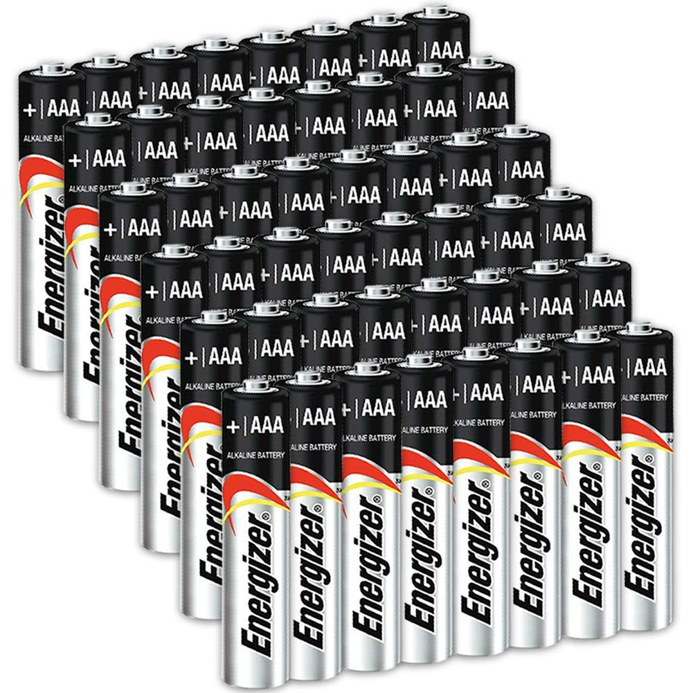 48 Count Energizer AAA Batteries, Triple A Battery Max Alkaline, Long Lasting, Leak Resistant, The Perfect Choice of Power for All AAA Battery Operated Devices by HeroFiber