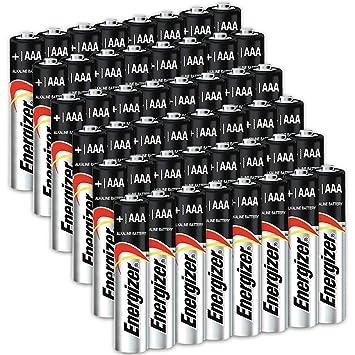 Amazon.com: Contador de pilas AAA Energizer, batería triple ...
