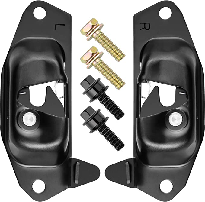 labwork Tailgate Handle Hinge Latch Striker Cable Kit Replacement for 1999-2007 Silverado Sierra