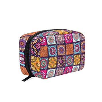 927300295537 Amazon.com : Ethnic Element Makeup Case Bag Appropriate Capacity ...