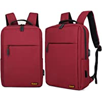 Robust Travel Laptop Backpack, Business Anti Theft Slim Durable Laptop Bag with USB Charging Port,Water Resistant…