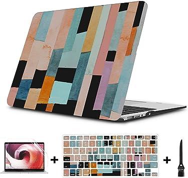 Macbook Pro 15in Estuche Morden Moda Hermosa Pintura Plástico Carcasa Dura Compatible Mac Air 11