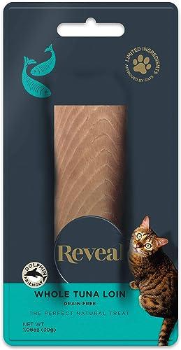 Reveal Cat Treat 1.06oz Tuna Loin – 12 Pack
