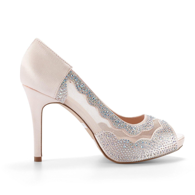 DREAM PAIRS Womens Divine-01 High Heel Pump Shoes