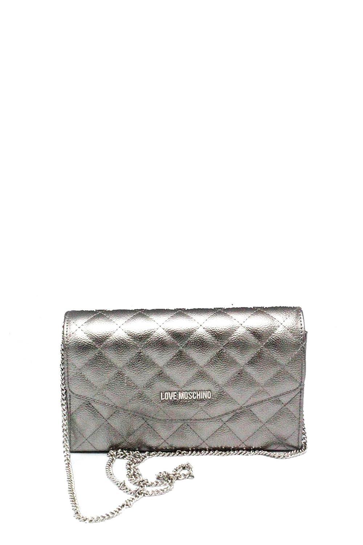 Borsa Donna Chanel Trapuntata con Catena | Love Moschino | JC4289PP05KT0902-Argento: Amazon.es: Ropa y accesorios