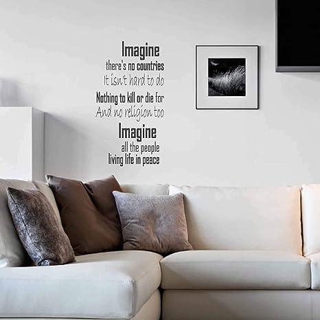 poetic devices in imagine by john lennon