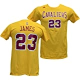 Cleveland Cavaliers Lebron James Adidas Throwback T Shirt