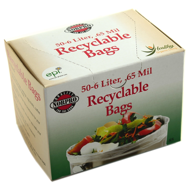 Norpro Degradable Compost Bags, 50-Pieces 85