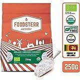 Foodsterr Organic Shredded Coconut, 250g