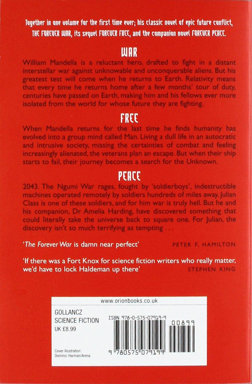 Peace And War The Omnibus Edition: Joe Haldeman: 9780575079199: Amazon:  Books