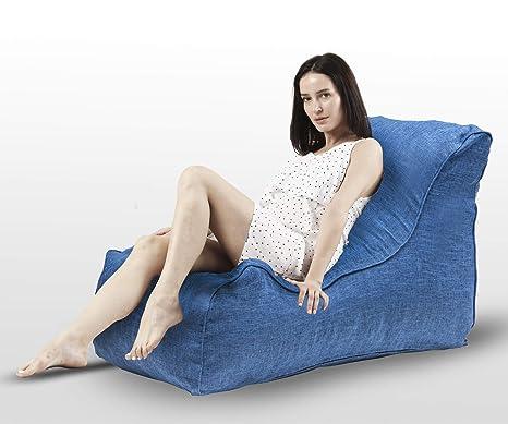 Amazon.com: LZ LEISURE ZONE Puf Silla, silla de piso sofá ...