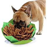 Kingtree Dogs Feeding Bowl Creative Snuffle Mat for Dog, Anti-Slip Maze Food Bowl for Slow Feeding and Sniffing Training…