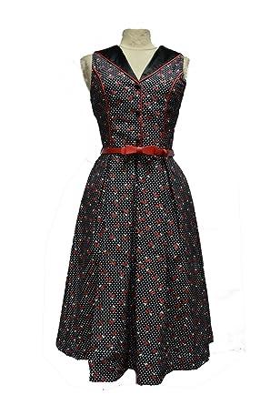 Manche Robe Noir Sans Rouge Femme Pour Glamour Avec Petite Fleur nPXkN80wO