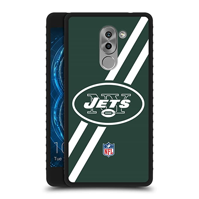 Amazon Official Nfl Stripes New York Jets Logo Black Armour