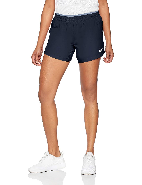 f4c42d6486aad NIKE Women's Elevate 5'' Running Shorts (Obsidian/Ashen Slate, Small ...