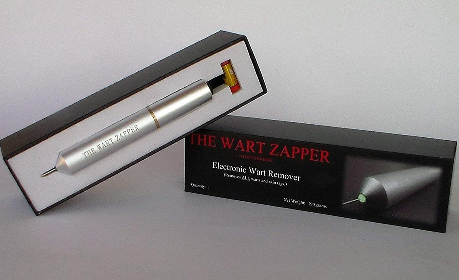 The Wart Zapper - Electronic Wart and Skin Tag Remover