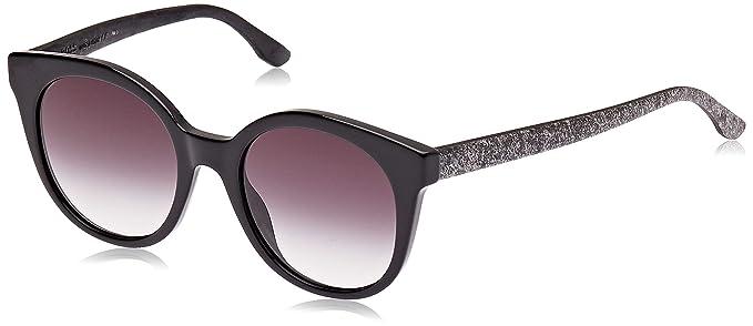 Hugo Boss Boss 0890/S 9O UI5 Gafas de sol, Negro (Blk Blkrubbe/Dark Grey Sf), 51 Unisex-Adulto