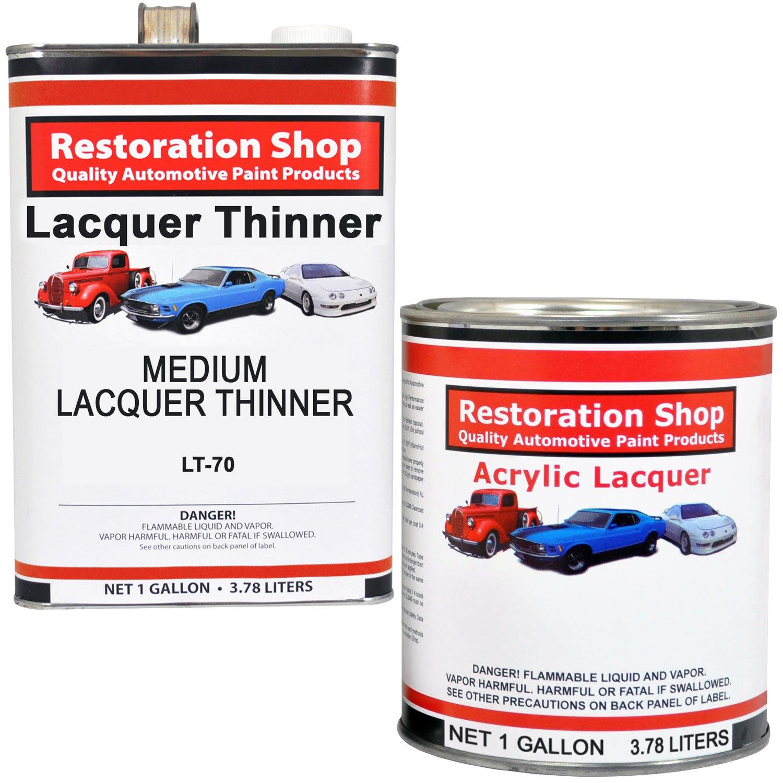 Midnight blue acrylic enamel paint kit auto paint car - Amazon Com Jet Black Gloss Acrylic Lacquer Single Stage Car Auto Paint Complete Medium Gallon Kit Restoration Shop Automotive