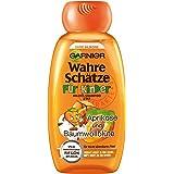 Garnier 2in1 Wahre Schätze Mildes Shampoo, für Kinder, reinigt besonders schonend, brennt nicht in den Augen, ohne Parabene und Silikone, 3er Pack (3 x 250 ml)