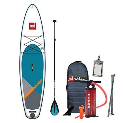 Amazon.com: RED Paddle 2019 Co. 113 Sport SUP hinchable con ...