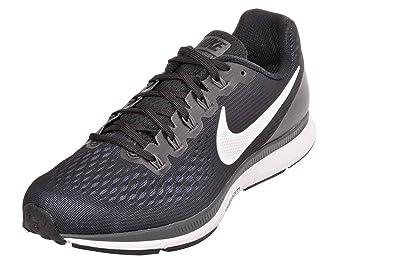 Nike Women's Air Zoom Pegasus 34 Running Shoes, BlackWhite Size 5 Wide US