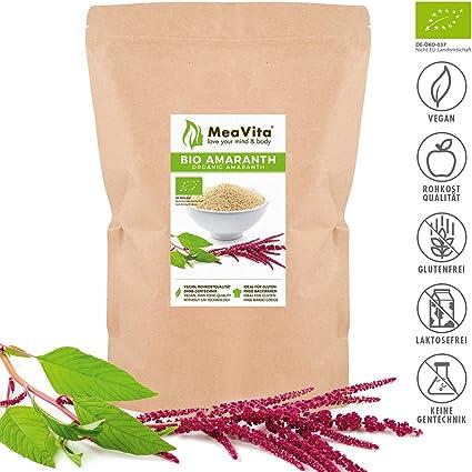 Amaranto orgánico MeaVita, 1 paquete (1 x 1000g)