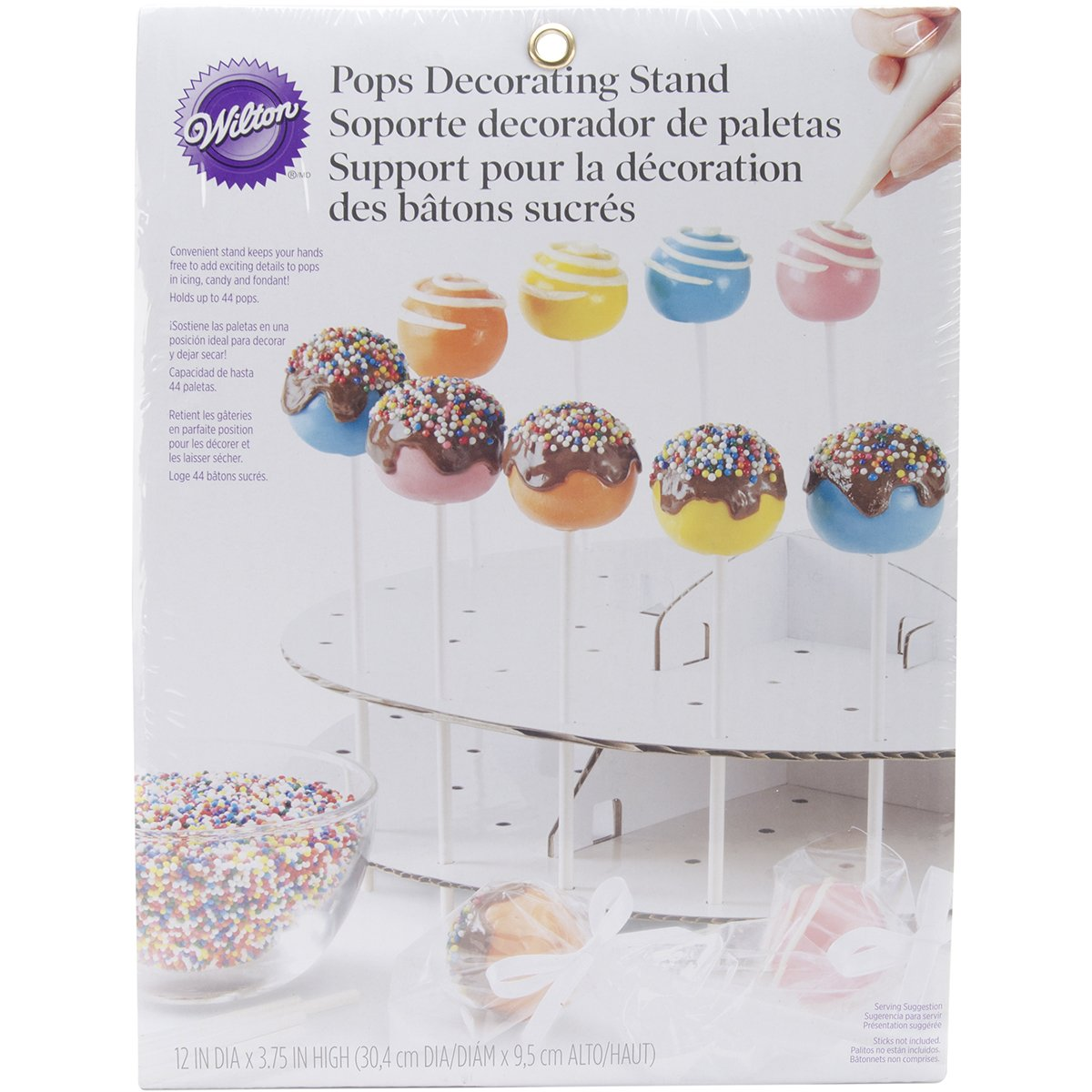 Wilton 1512-136 - Expositor/Stand para decorar/presentar cakepops: Amazon.es: Hogar
