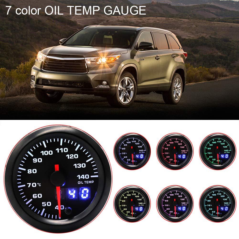 Car Interior Parts >> Amazon Com Hsgbvicts Oil Temperature Gauge Car Interior