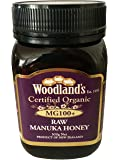 Woodlands Organic Manuka Honey MG100+, 500g, (Purple)