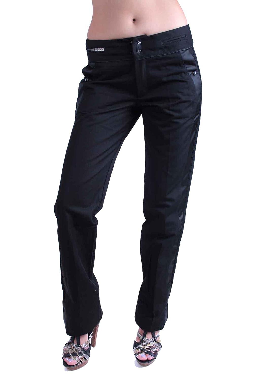 Diesel Pantalón De Mujer Chinos Columba Negro #12: Amazon.es ...