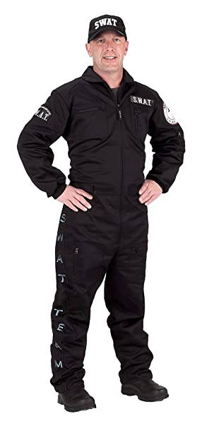 Amazon.com: Adultos SWAT Traje, L, null: Clothing