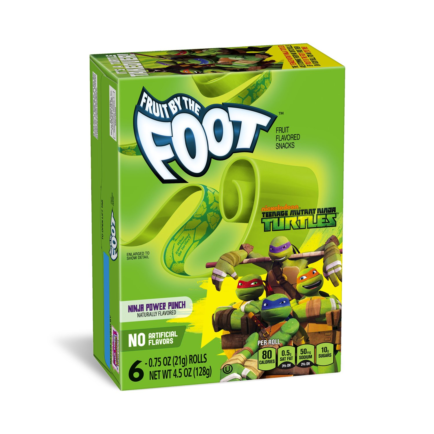 Amazon.com: Fruit by the Foot Nickelodeon, Ninja Power Punch ...