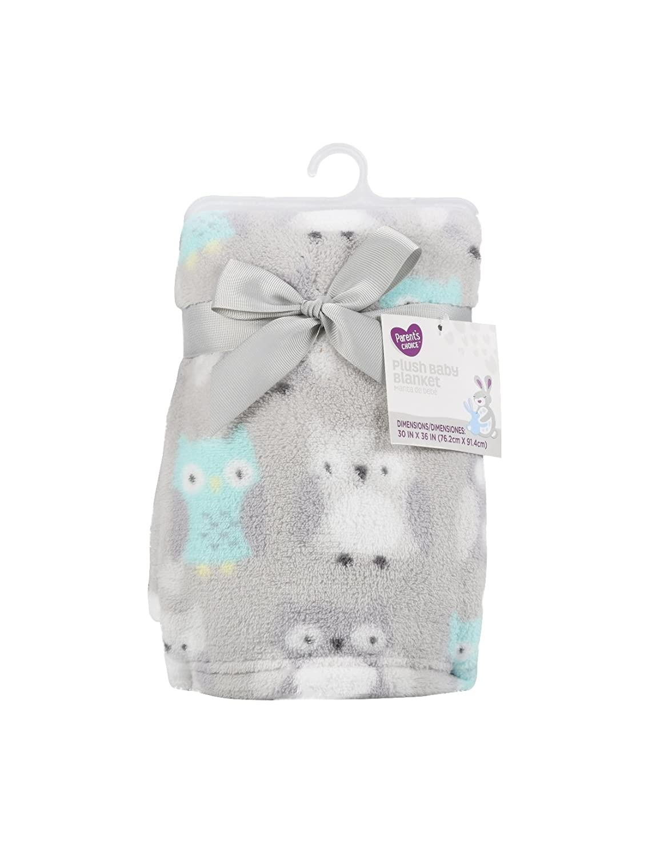 Amazon.com: Parent s Choice bebé manta de felpa, gris 30 ...