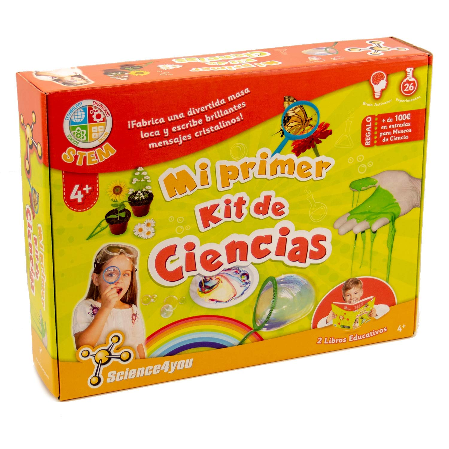 Science4you - My First Science Kit Toy Cientifico from 4 Years