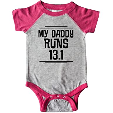 2552e99a808a0 Amazon.com: inktastic My Daddy Runs Half Marathon Infant Creeper ...