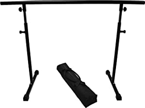 10. Health Mark SB19200 Free Standing Balance Barre with Travel Bag - Best Pre- and Post-workout Ballet Barre