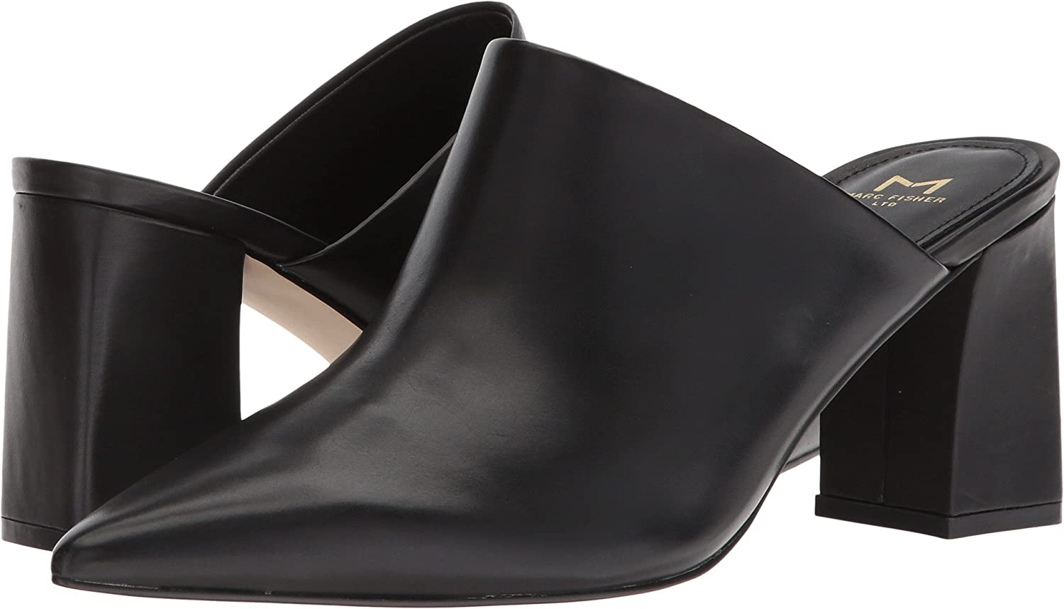 151baf8fc16 Marc Fisher LTD Women s Zivon Black Leather 6 M US  Buy Online at Low  Prices in India - Amazon.in