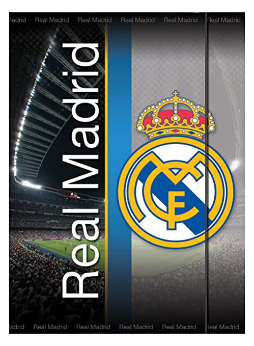 Real Madrid Cuaderno lenticular 3D (Mercury 25RM950)